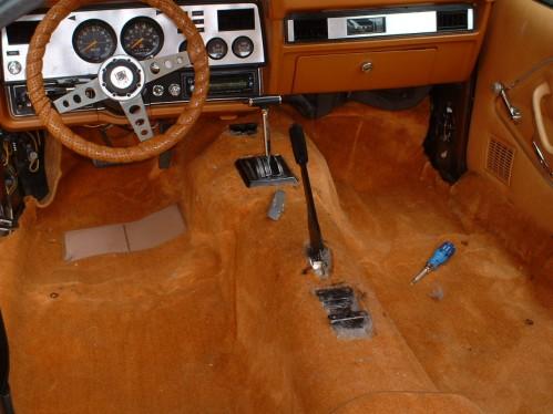 Auto Carpet On Drives Side